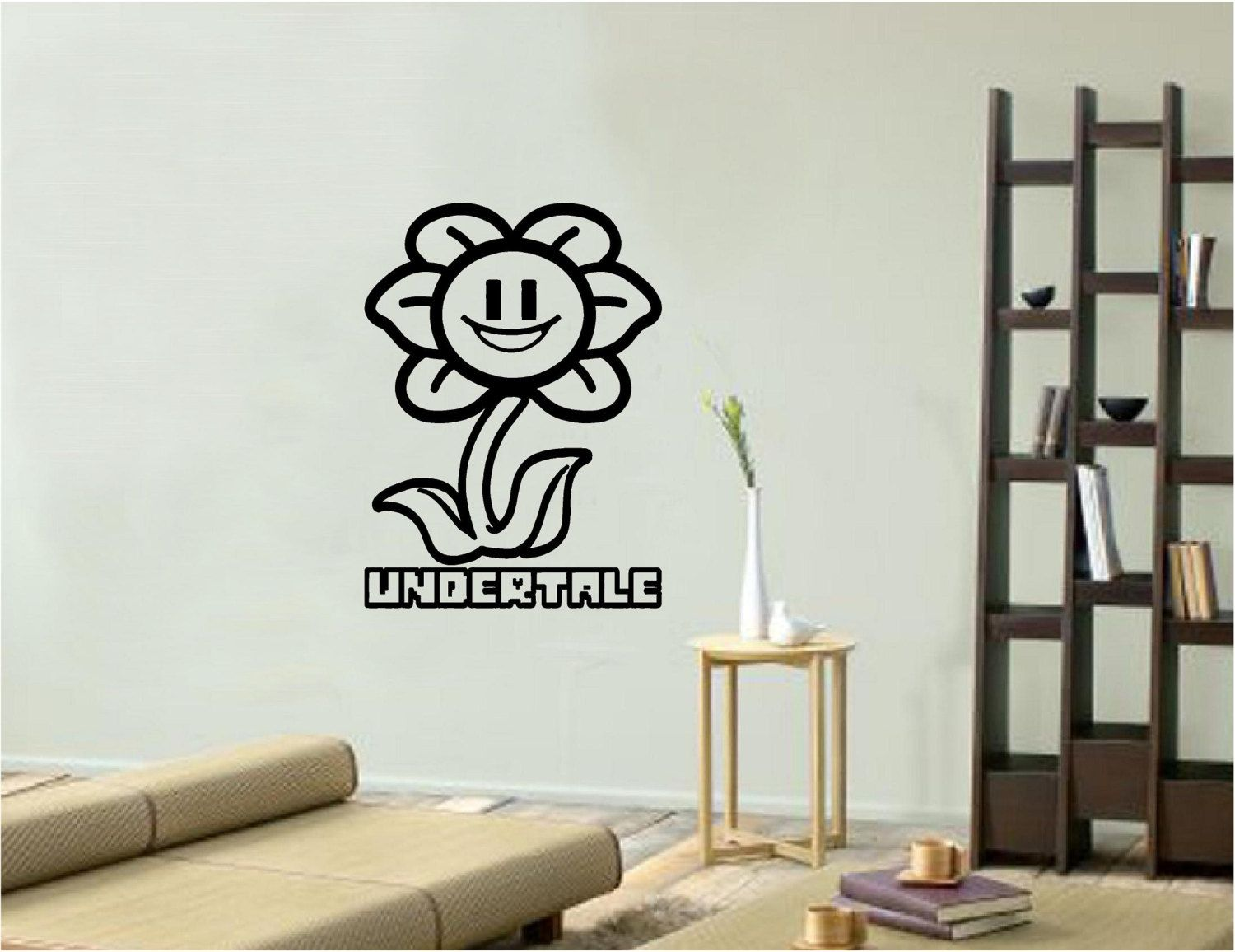 Vinyl Wall Decal Vinyl Wall Art Decal Sticker Flowey Undertale Vinyl