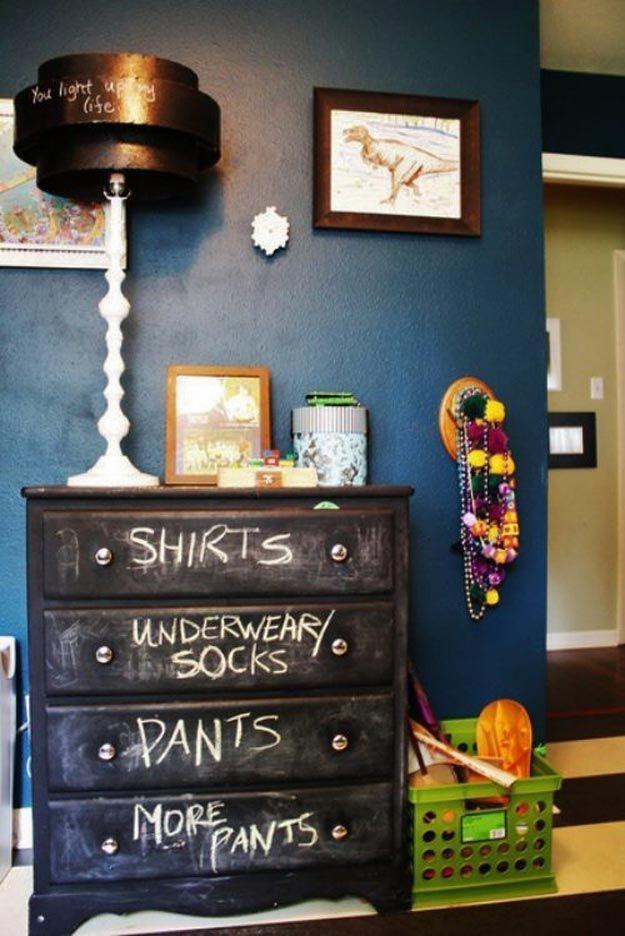 Teen Room Decor Ideas Chalkboard dresser, Diy teen room decor - diy teen bedroom ideas