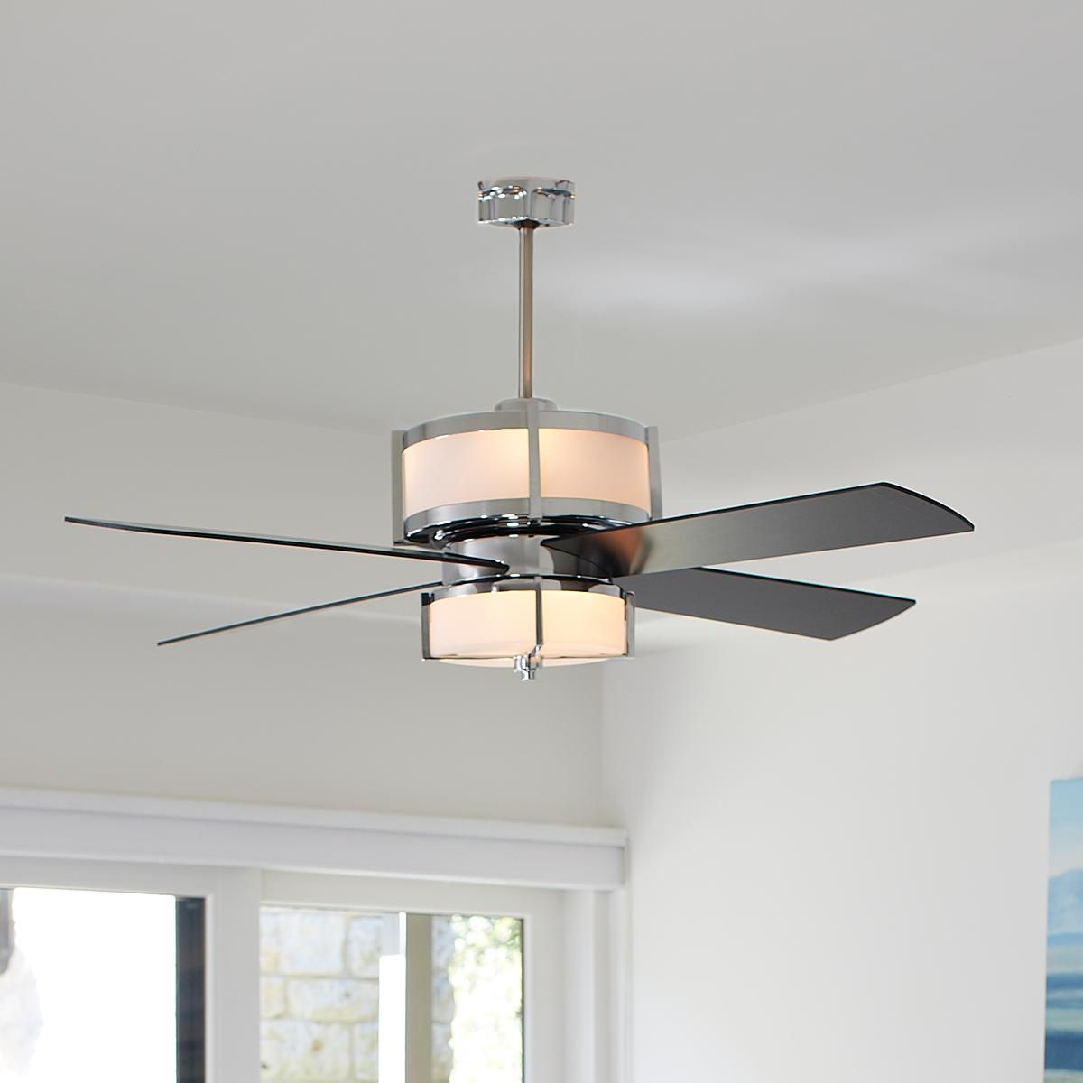 Ceiling Fan For Great Room Upscale Modern Ceiling Fan Modern Ceiling And Ceiling Fan