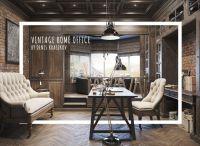 Epic Vintage Home Office Design