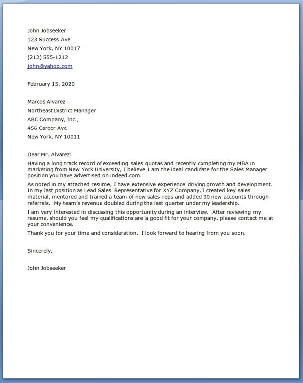 sample resume cover letter for mom returning to work