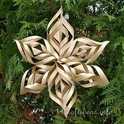 Christmas Paper Craft - Christmas Star Window Decoration http - christmas star decorations