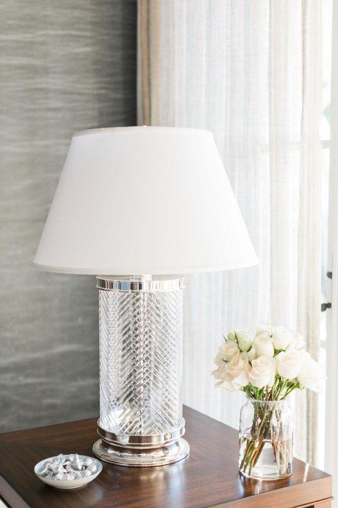 Herringbone Crystal Table Lamp Ethan Allen Herringbone Crystal - glass table lamps for living room