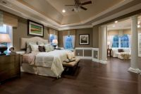 Toll Brothers - Master Bedroom Suite with Sitting Area ...