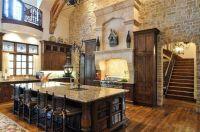 Kitchen , Tuscan Kitchen Style : Stones Tuscan Kitchen ...