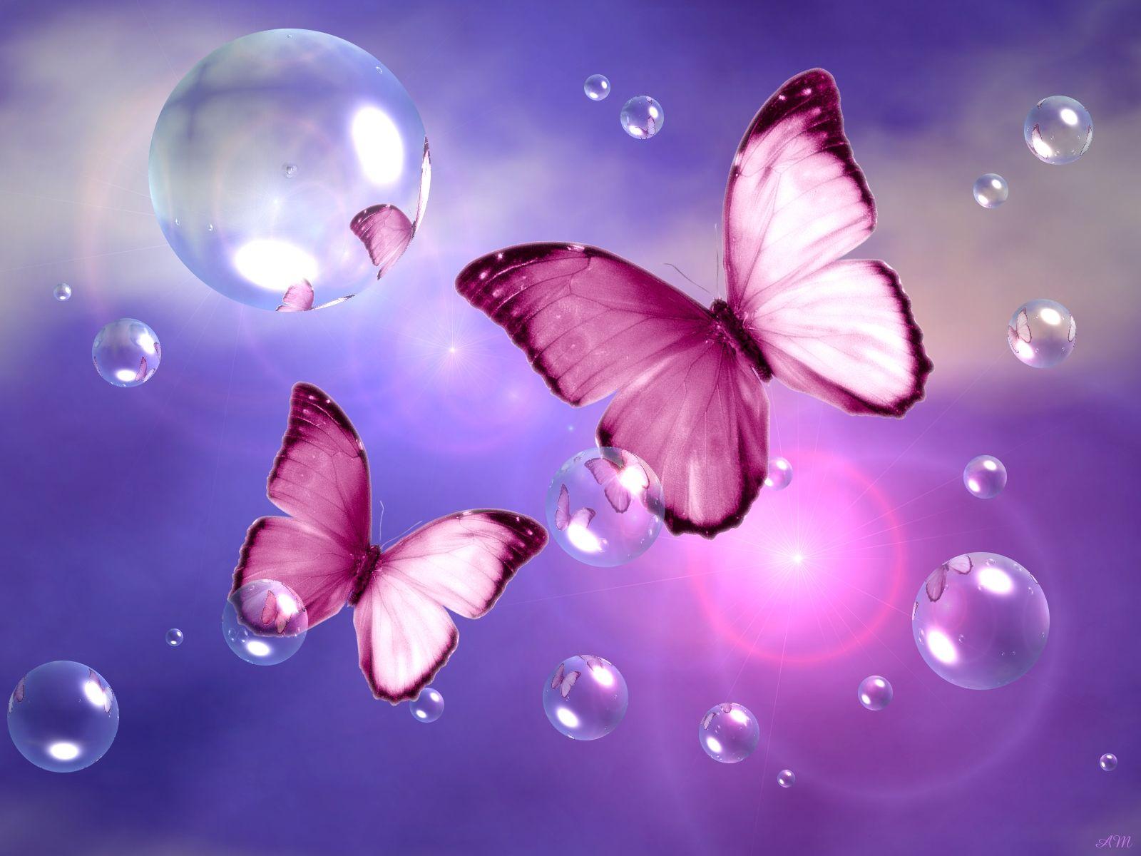 Black Glitter Wallpaper Bedroom Fantasy Butterflies Purple Www Pixshark Com Images