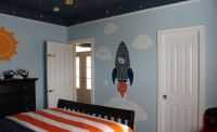 awesome space themed bedroom | Evan's Room | Pinterest ...