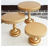 Gold Crystal Cake Stand - Small | Cakes | Pinterest ...