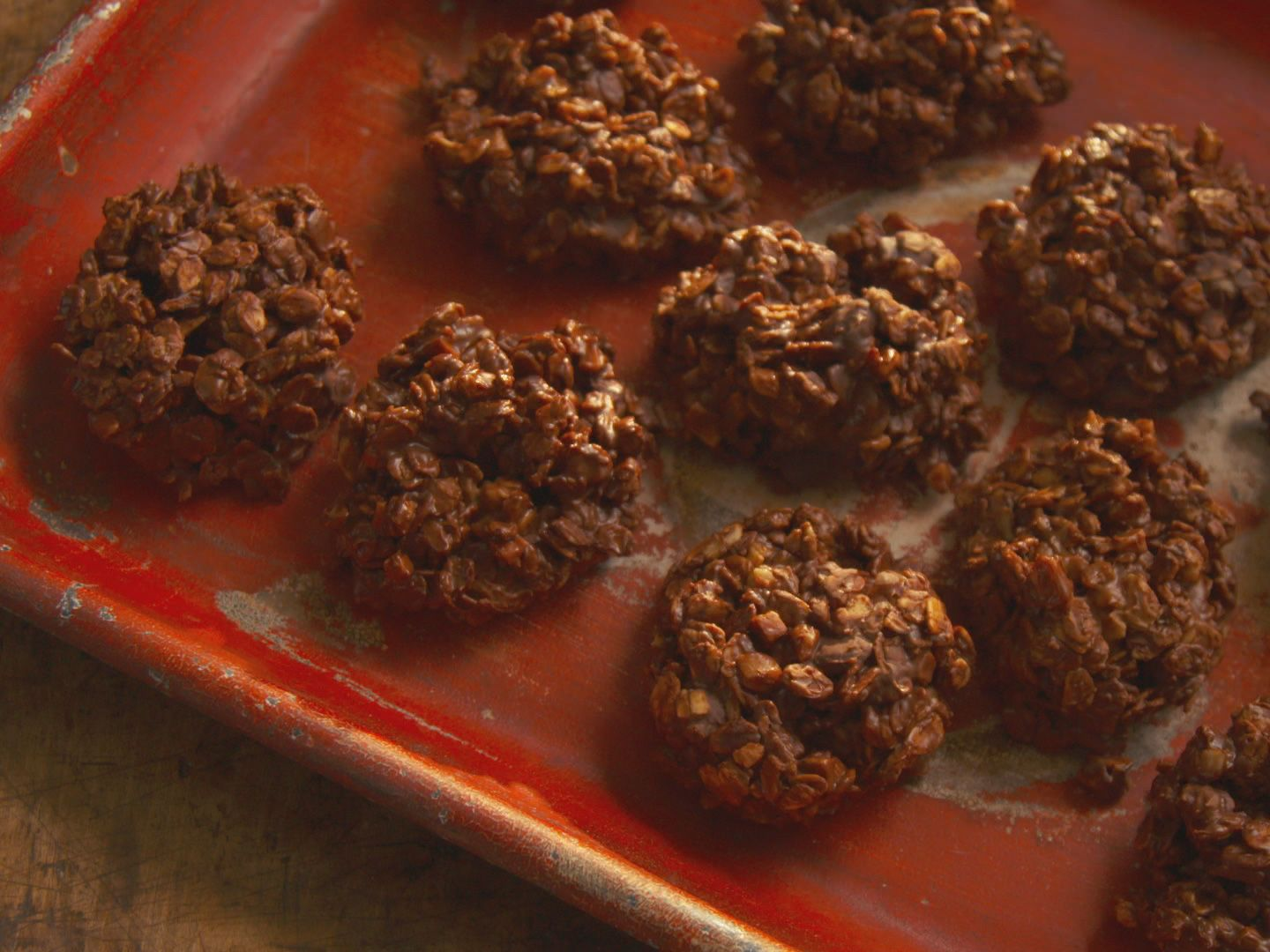 Food Network Farmhouse Rules Recipes Chocolate Toffee No Bake Cookies Recipe Chocolate