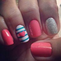 Cute Nail Polish Ideas | Beauty | Pinterest | Everyday ...