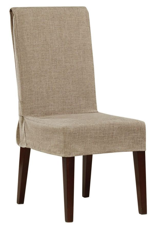 shorty dining chair slipcover slipcovered chairs