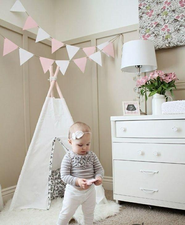 babyzimmer ideen babyzimmer gestalten babyzimmer mädchen nähen - kinderzimmer gestalten madchen