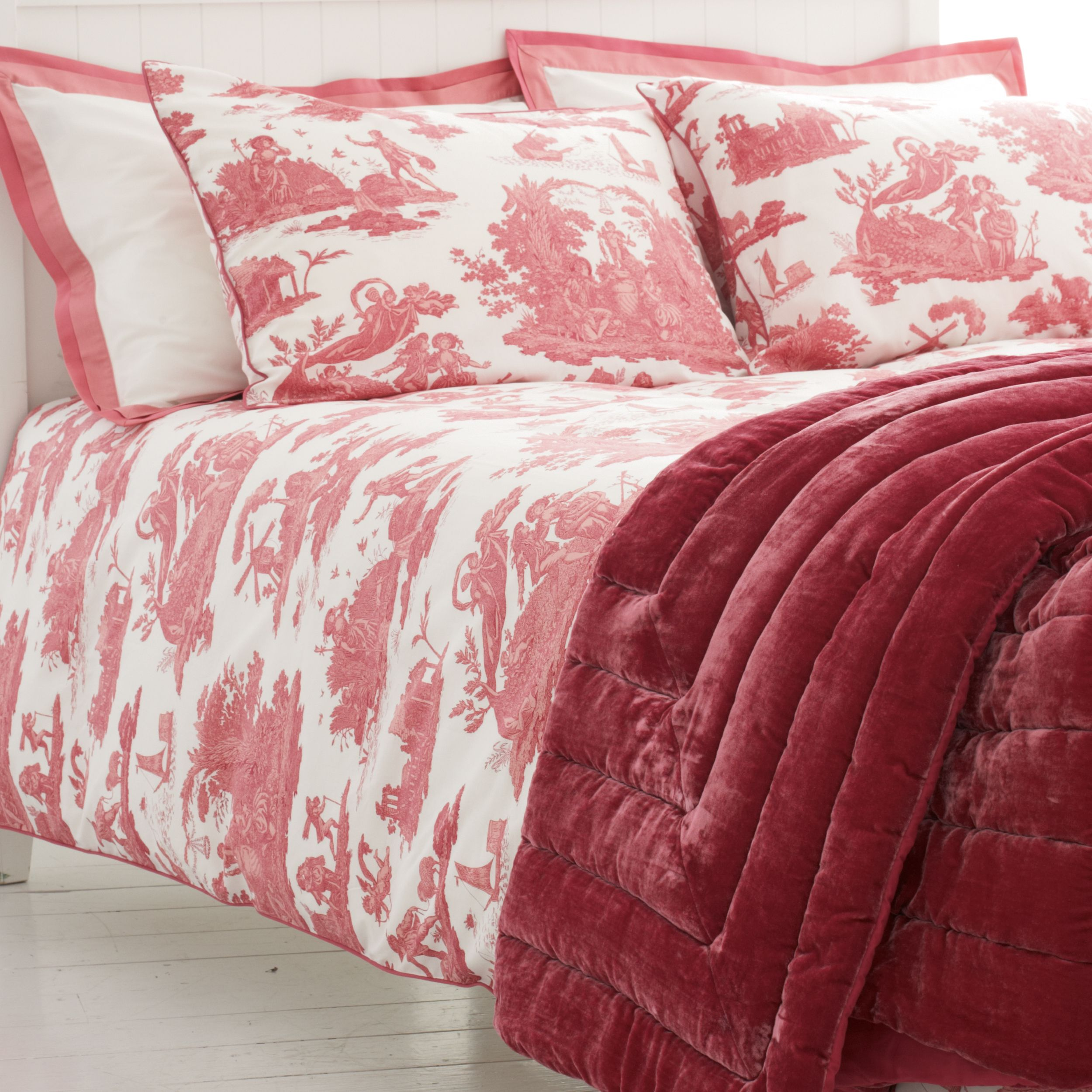 Toile Duvet Cover Toile Cotton Bedlinen I Love This Bedding Toile
