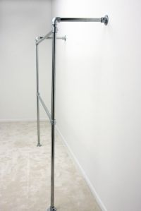 Wall Mounted Clothing Rack - Storage - Simplified Building ...