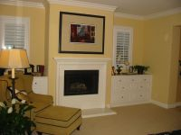 Fireplace with built in dressers | Master Bedroom Ideas ...