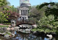 Osaka Japanese Garden Jackson Park was designed for the ...