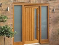Wooden Front Doors | External Solid Oak & Glazed Exterior ...