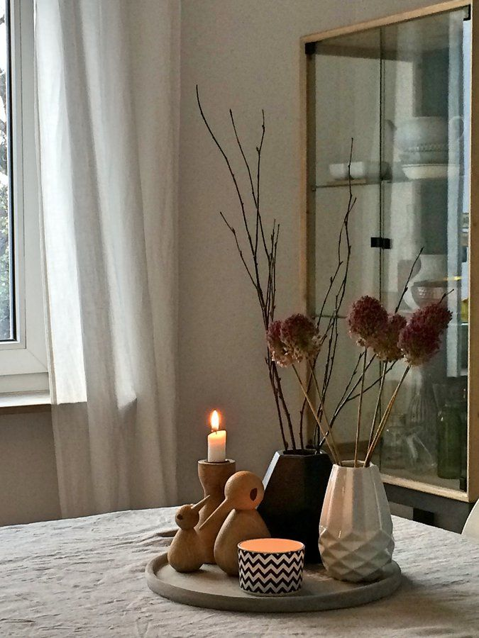 Herbstdeko#einrichtung #interior #deko #dekoration #decoration   Esszimmer  Deko Selber Machen