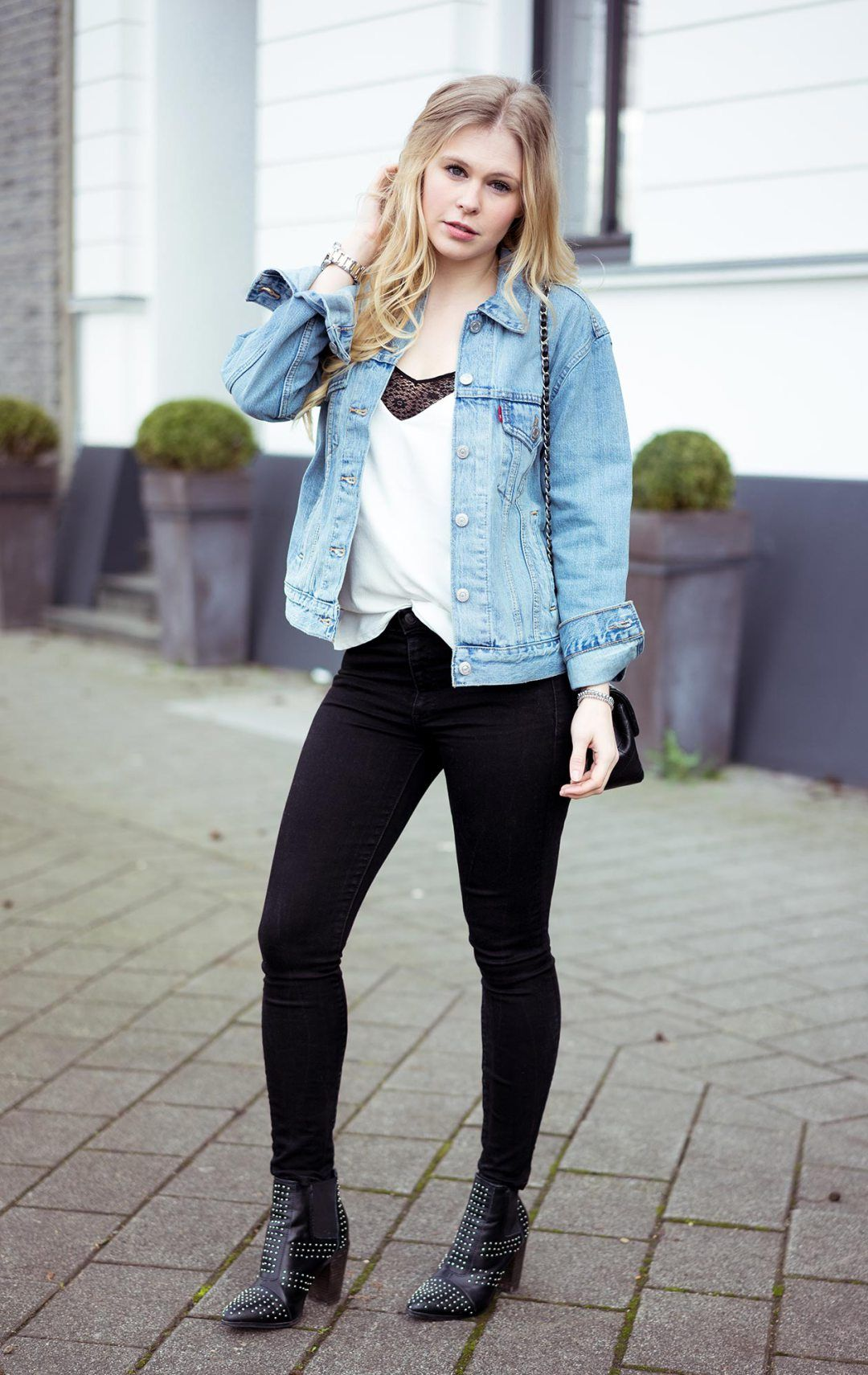 Oversize Jeansjacke Damen Oversize Jeansjacke By Levis Jean Outfits And Fashion