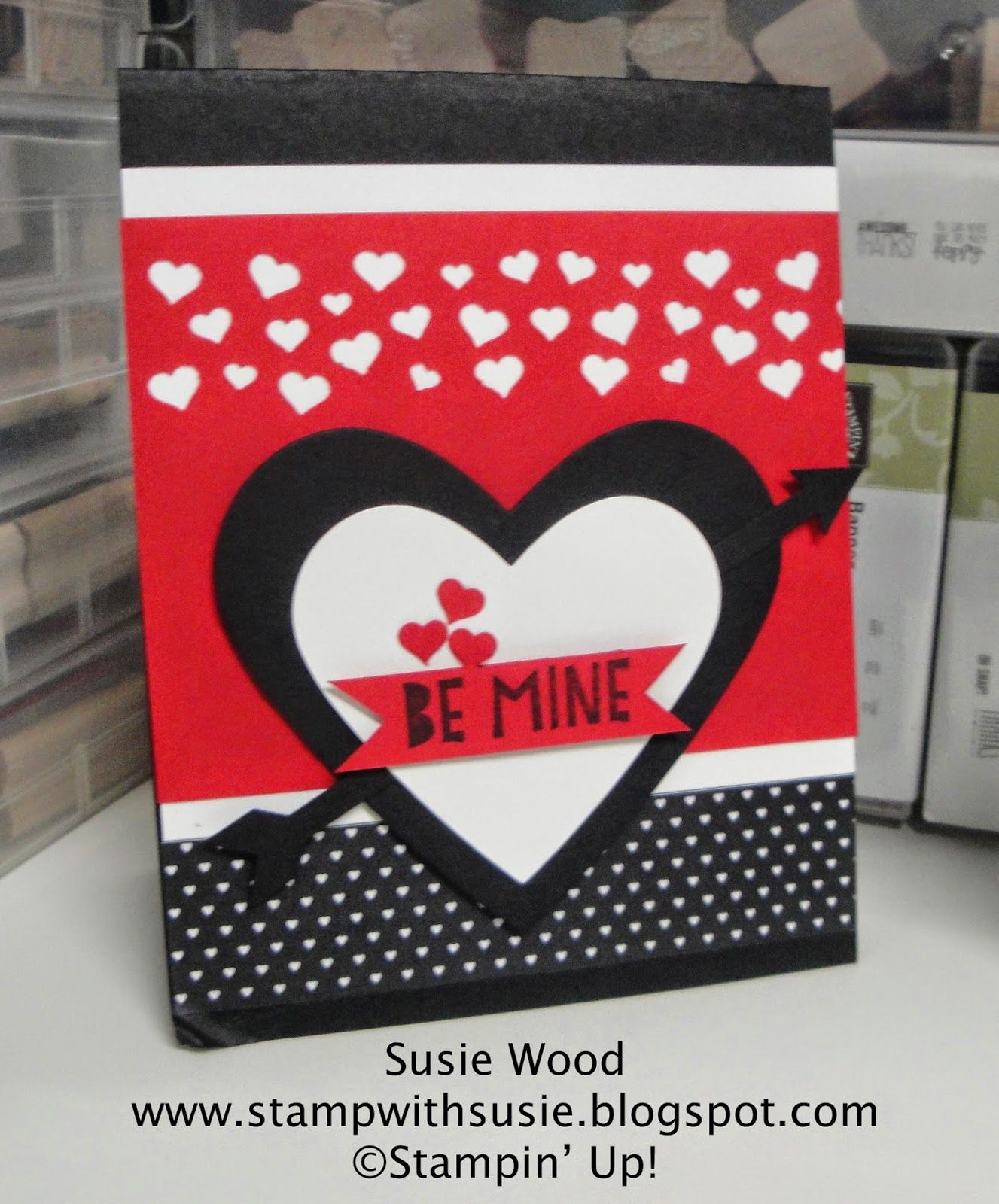 Mine Stamp Marcador De Ropa Y Libros Stampin 39 Up Be Mine With This Valentines 39you Plus Me