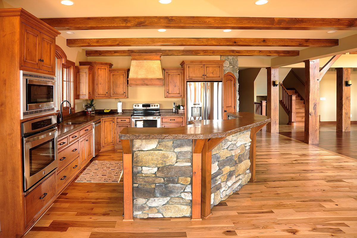 A Frame Kitchen Designs Timber Frame Kitchens Google Search Kitchens To Love