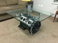 Jaguar Engine Block Coffee Table   My projects ...
