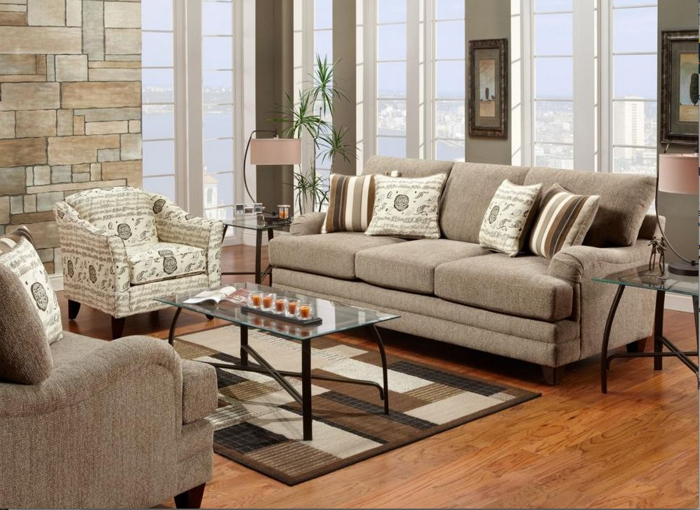 Furniture \ Furnishing Awesome And Stunning Living Room With - transitional style living room