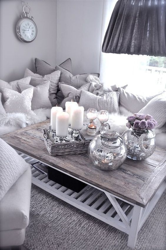 21 Modern Living Room Decorating Ideas Contemporary couches - silver living room furniture