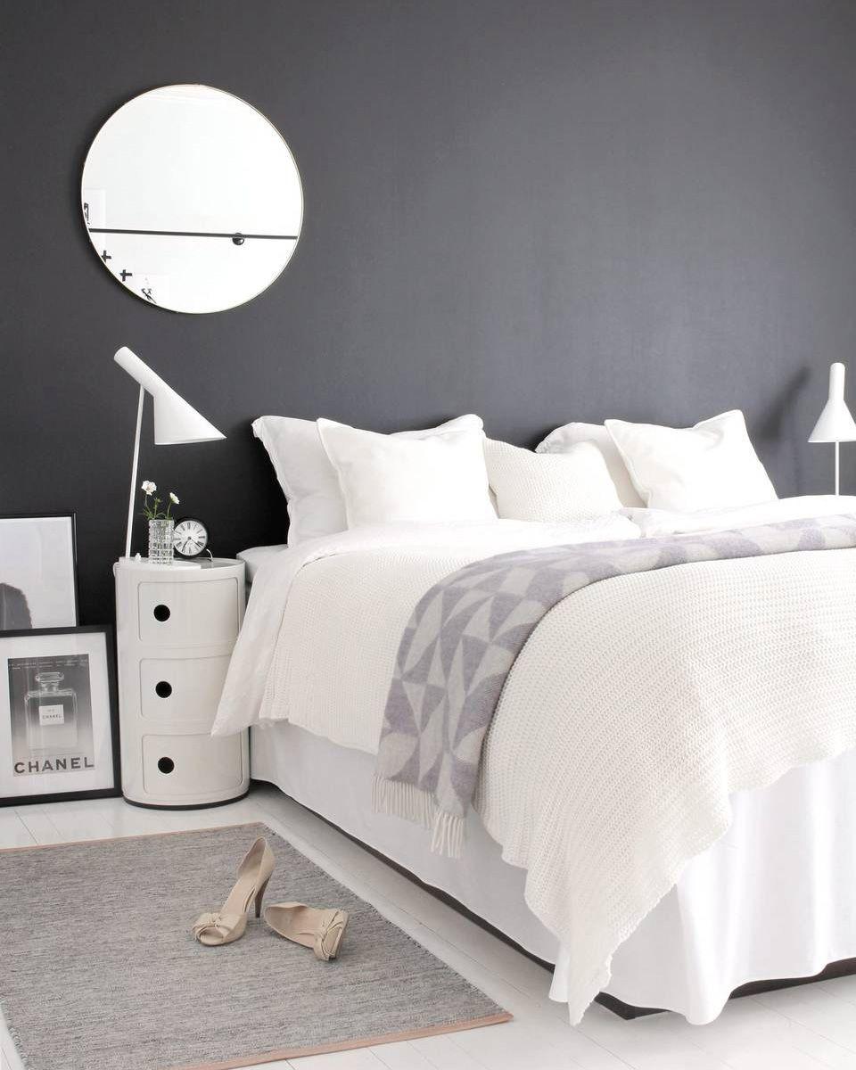 Chambre Ado Noir Blanc Gris Best Chambre Mur Noir Gallery Design