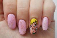 Peter Pan 'Tinkerbell' Nails   Nails   Pinterest   Beleza