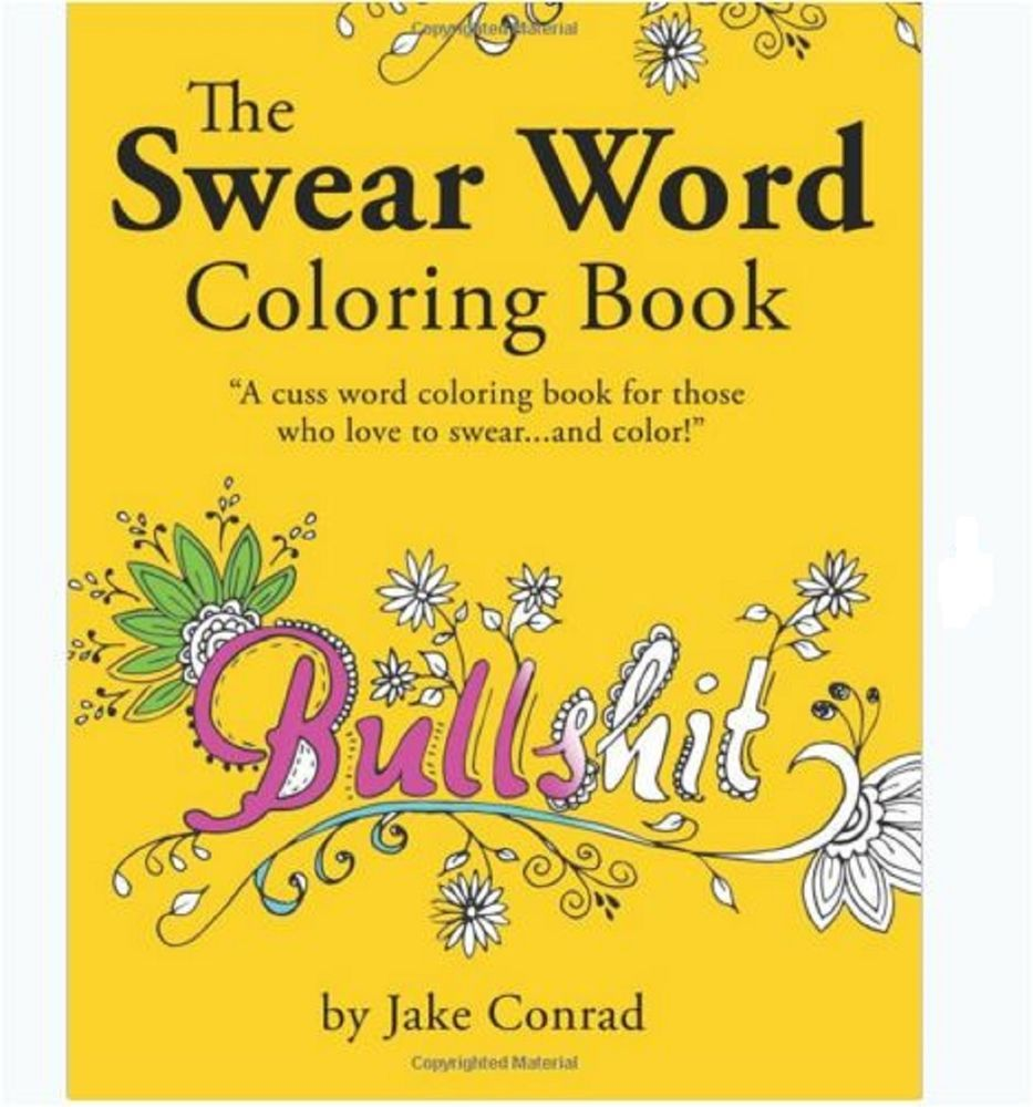 Swearing colouring in book nz - Sw Swear Words Coloring In Book
