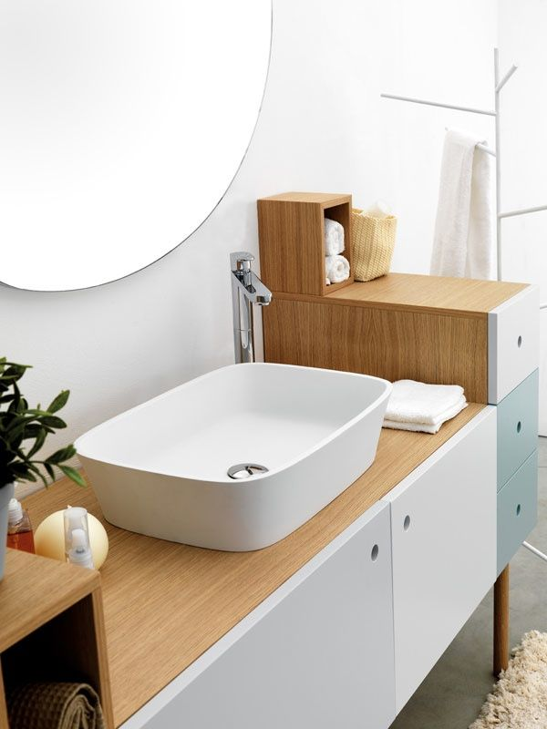 Bathroom, Collage Vanity Unit Fir Multifunctional Versatile