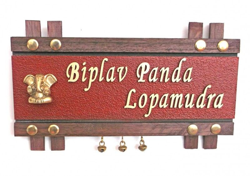 name plate designs, name plates online, name plates for home - design homes online