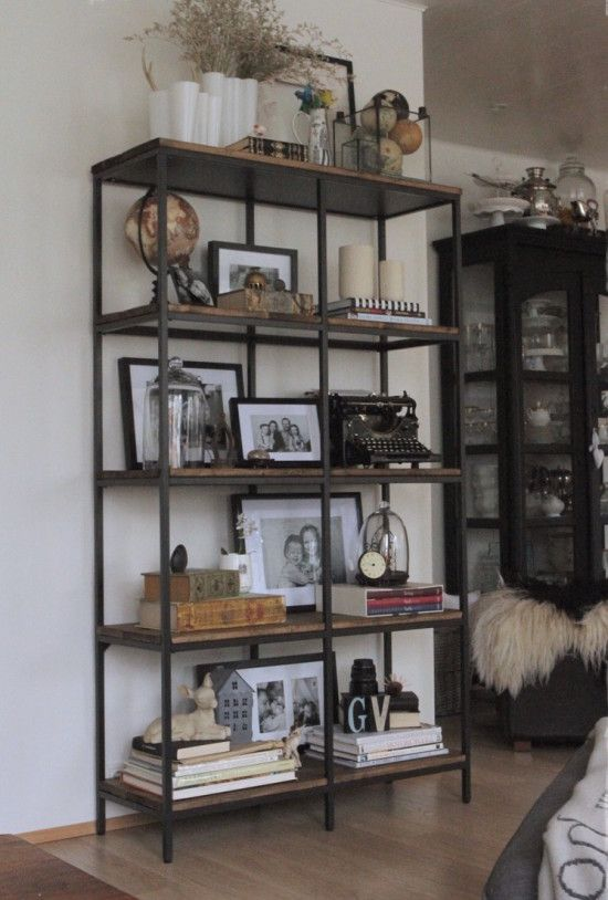 Turning The Vittsjö Shelving Rustic And Industrial - Lack Kast Ikea