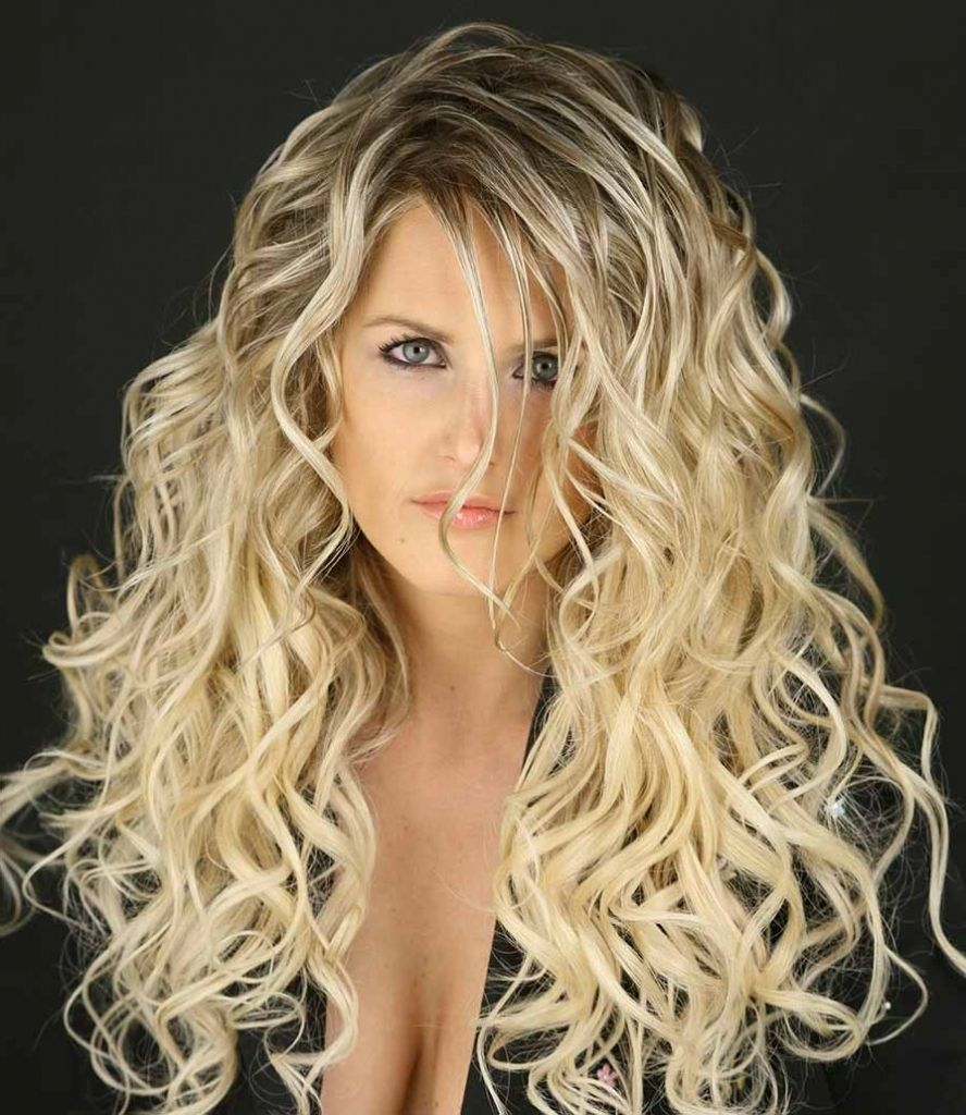Long hair perm styles 1000 images about hair on pinterest perms body wave perm and