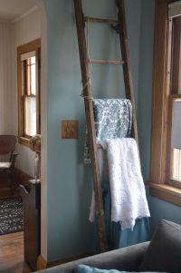 Ladder quilt rack | Furniture & Decor | Pinterest ...