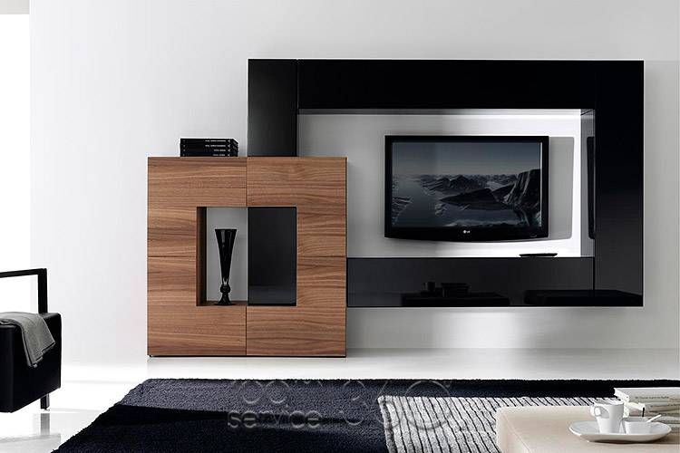 Gallery 128 Designer Wall Unit by Milmueble Wall Units and - designer wall unit