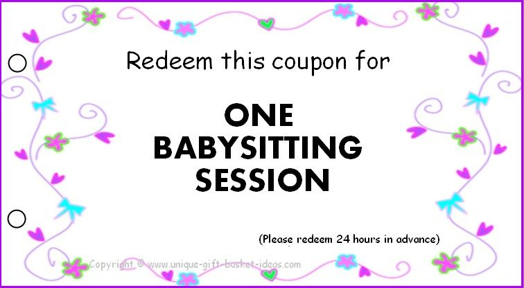 Gift certificate template for babysitting gallery certificate homemade gift vouchers templates env 1198748 resumeoud free babysitting coupons printable pinned by homemade gift vouchers yadclub Image collections