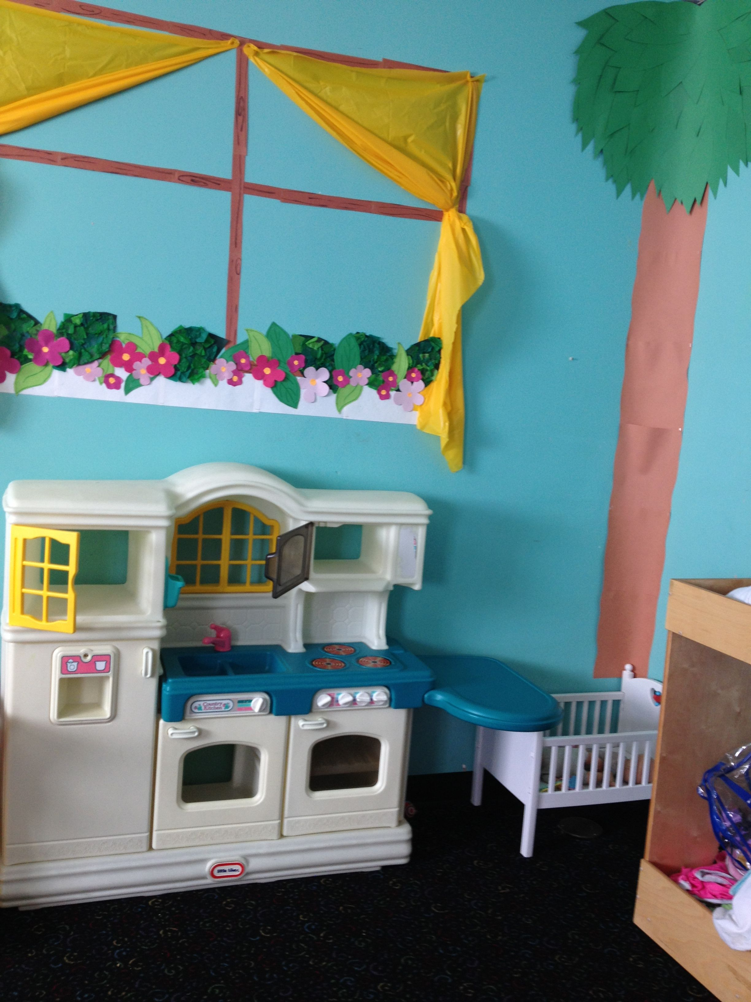 Decor Center Preschool Classroom Creative Dramatic Play Dress Up House