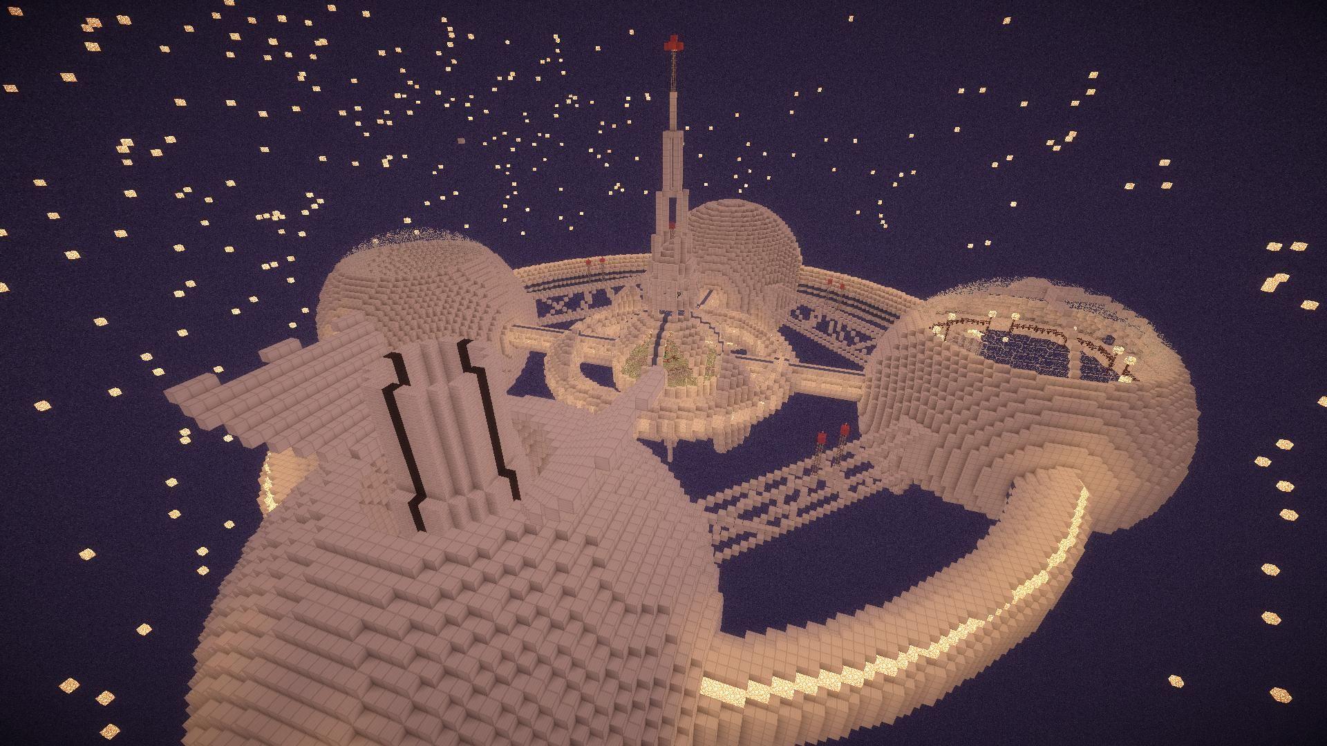 Minecraft Space Station