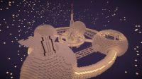 Minecraft Space Station | minecraft | Pinterest | Space ...