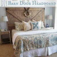 Barn Door Headboards on Pinterest   Barn Wood Headboard ...