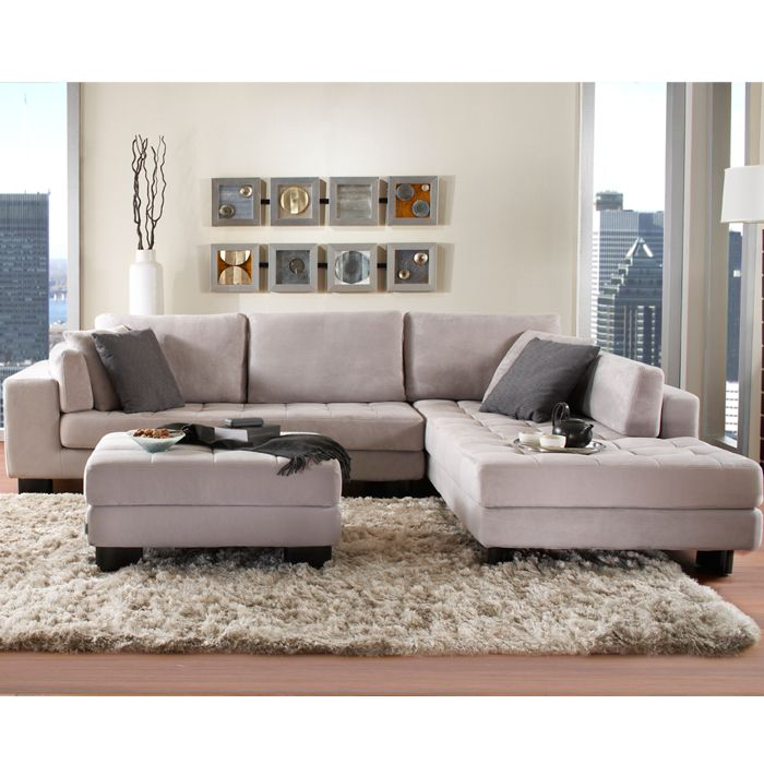 VEGAS FABRIC SECTIONAL - SECTIONALS - Living room - New York Style - living room furniture nyc