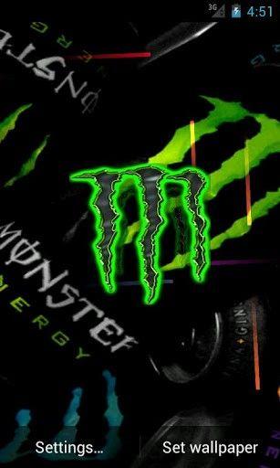 Monster Energy Live Wallpaper App for Android | Monster Energy | Pinterest