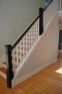 Beautiful Stair Railings Interior #7 Interior Wood Stair ...