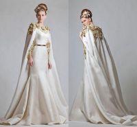 Fancy Elegant Zuhair Murad 2016 Evening Dresses Gold ...