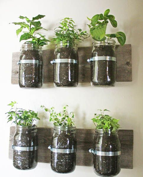 Wall Garden Design Ideas, DIY Projects for Decorating Small Spaces - container garden design ideas