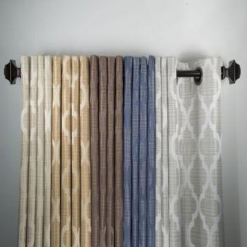 Peri Saybrook Window Panel- like the gold home ideas Pinterest - living room curtains kohls
