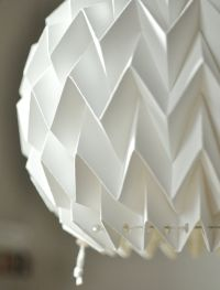 Bubble Origami Paper Lamp Shade / Lantern White by ...