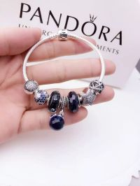 Pandora Sterling Silver Charm Bracelet CB01346